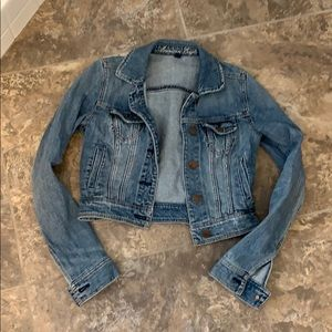 Denim jacket (cropped)